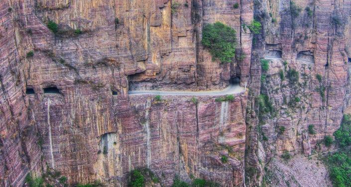 Tunel Guoliang w Chinach
