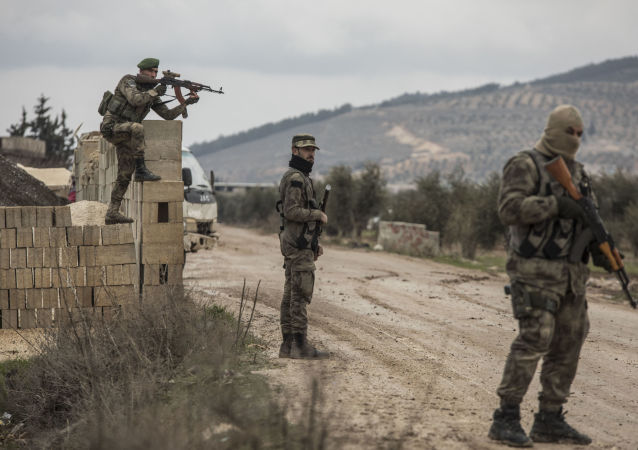 Turecka operacja Gałązka Oliwna w syryjskim Afrinie