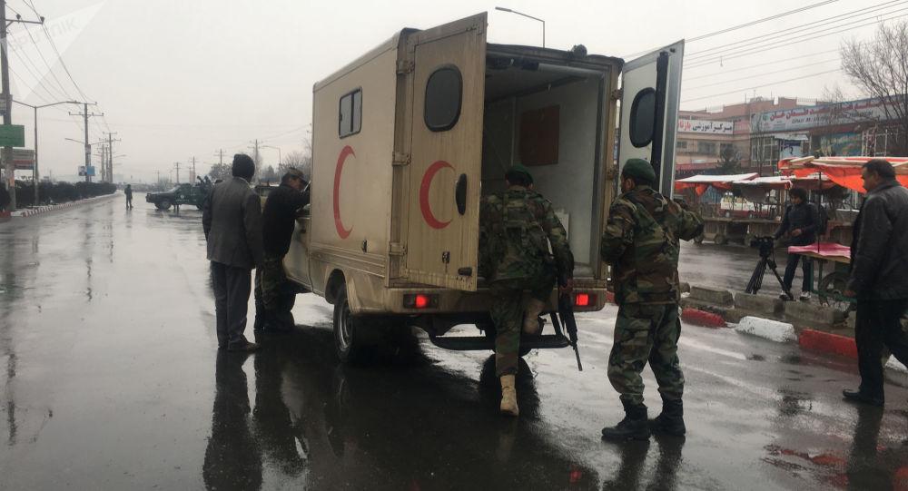 Ataki na akademię wojskową w Kabulu