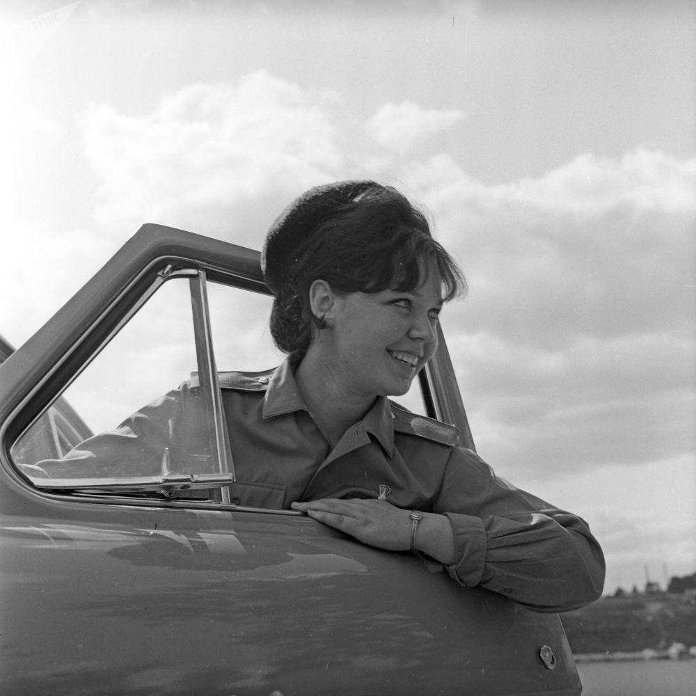 Radziecka milicjantka Anna Iwanowa, 1971 rok