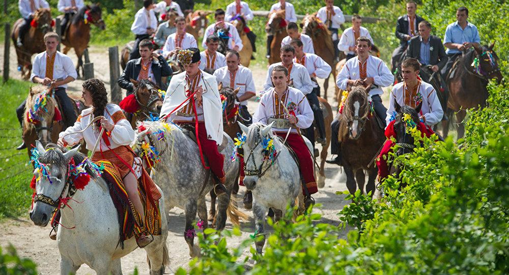 Tradycyjne wesele hucułów