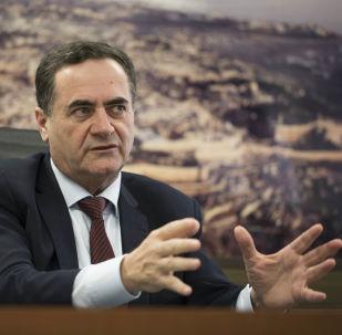 Izraelski minister transportu i wywiadu Israel Katz