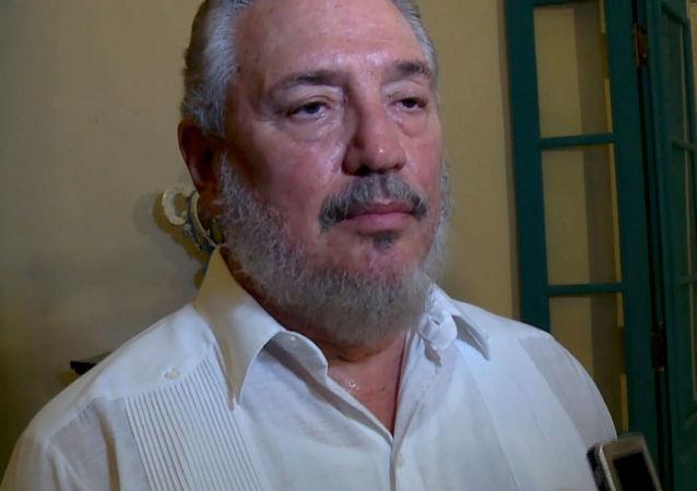 Najstarszy syn byłego kubańskiego przywódcy Fidela Castro doktor Fidel Angel Castro Diaz-Balart