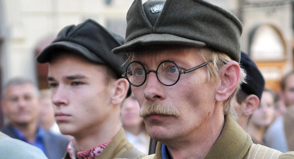 Marsz zwolenników UPA we Lwowie