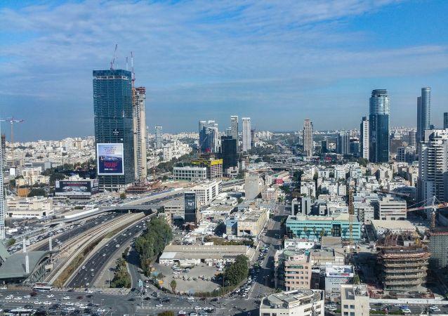 Widok na Tel Awiw