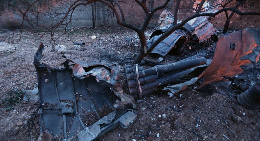 Zestrzelony Su-25