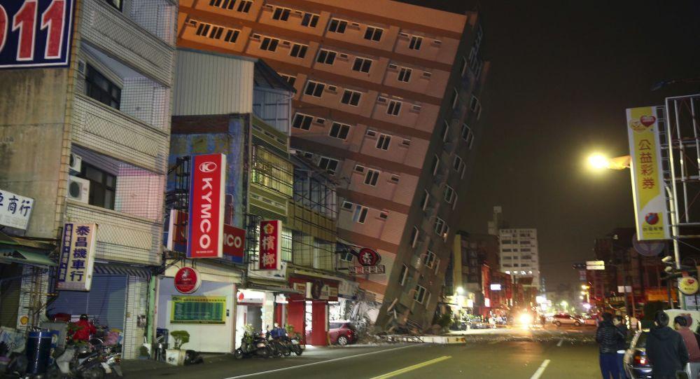 Trzęsienie ziemi na Tajwanie