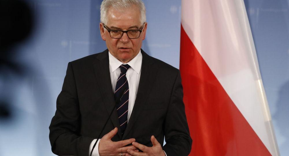 Szef polskiej dyplomacji Jacek Czaputowicz