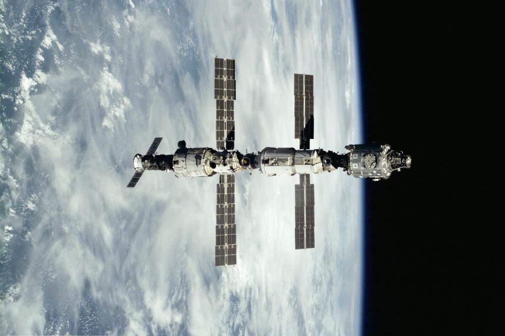MSK po odcumowaniu statku kosmicznego Atlantis