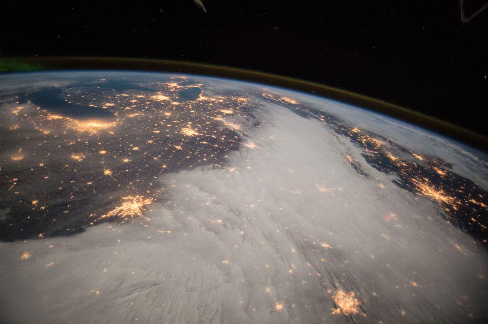 Zdjęcie Wielkich Jezior z pokładu MSK