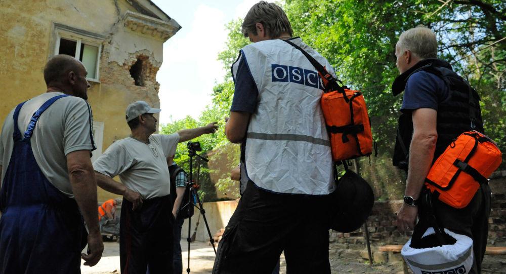 Przedstawiciele OBWE przybyli na miejsce ostrzału