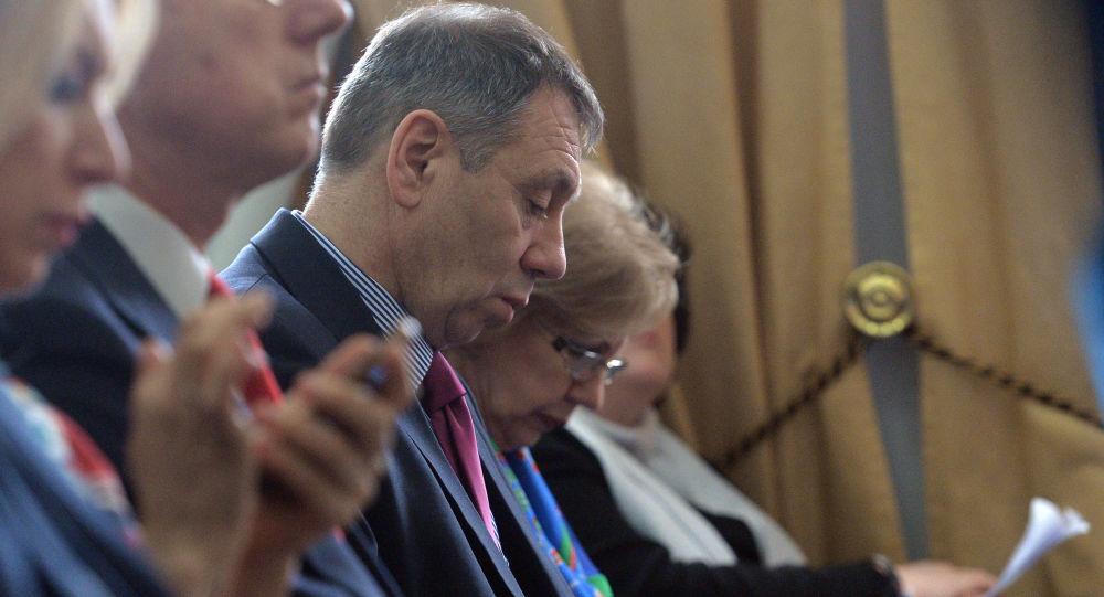 Rzecznik prasowy Komitetu Śledczego Rosji Władimir Markin