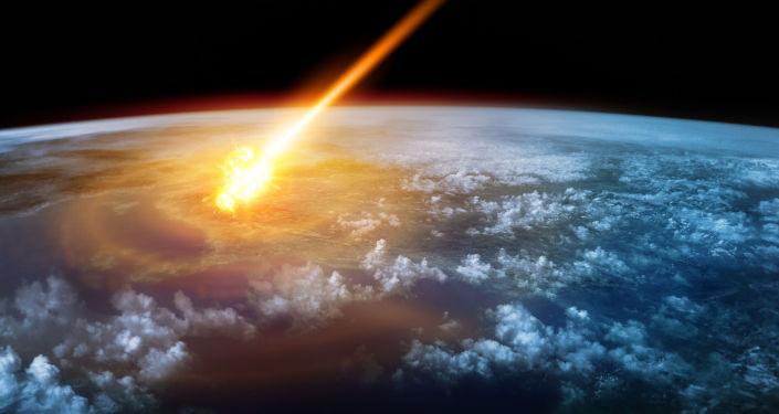 Meteoryt w pobliżu Ziemi
