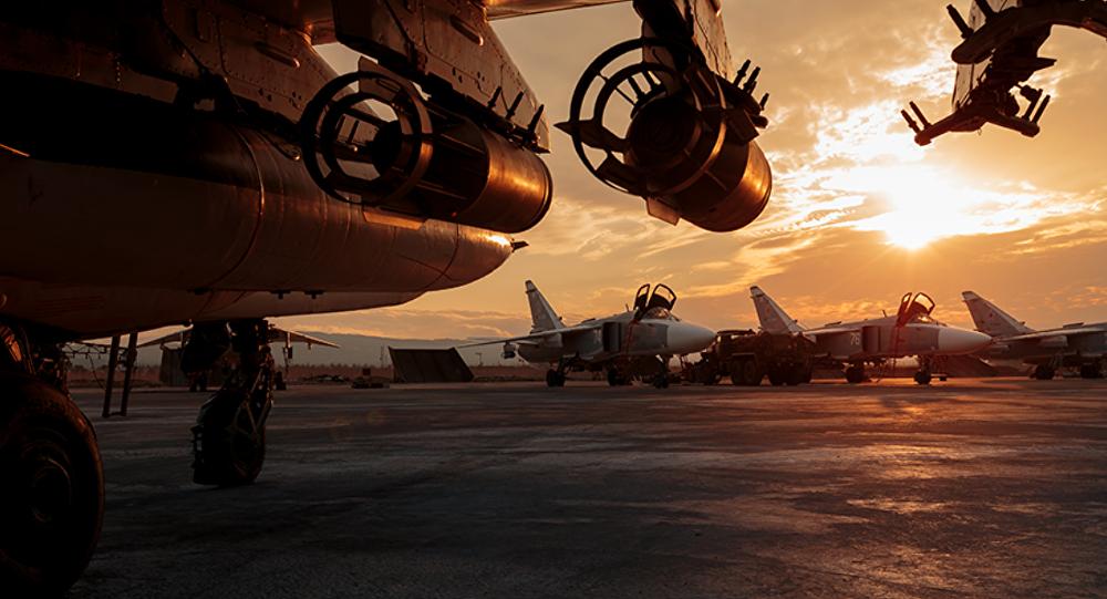 Rosyjska baza wojskowa Hmeymim w Syrii