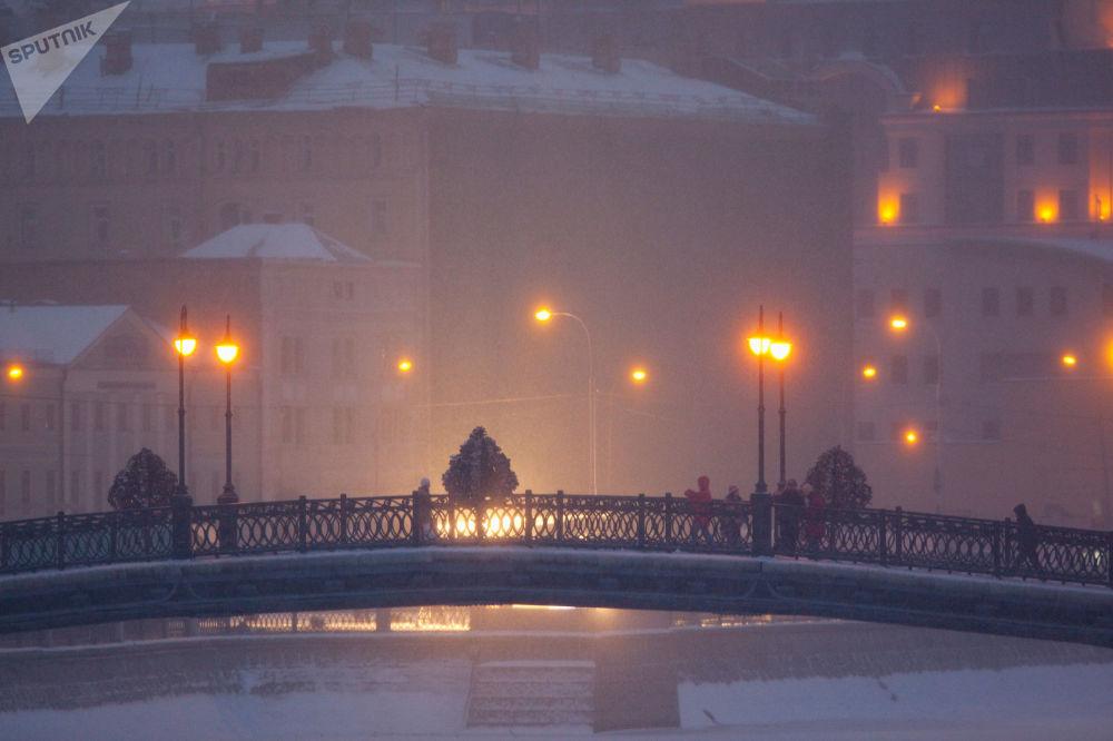 Widok na Luzhkov Most
