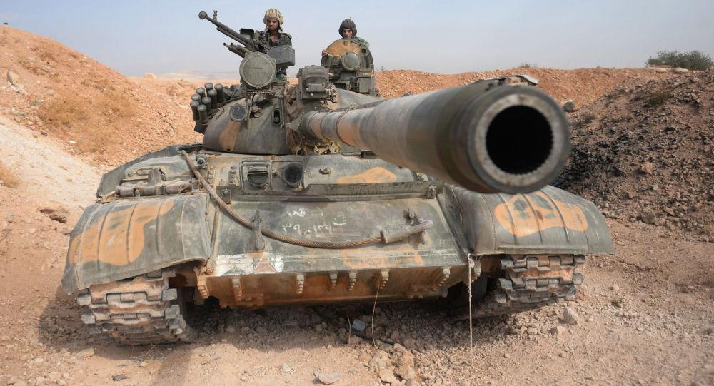Czołg Т-72 w Syrii