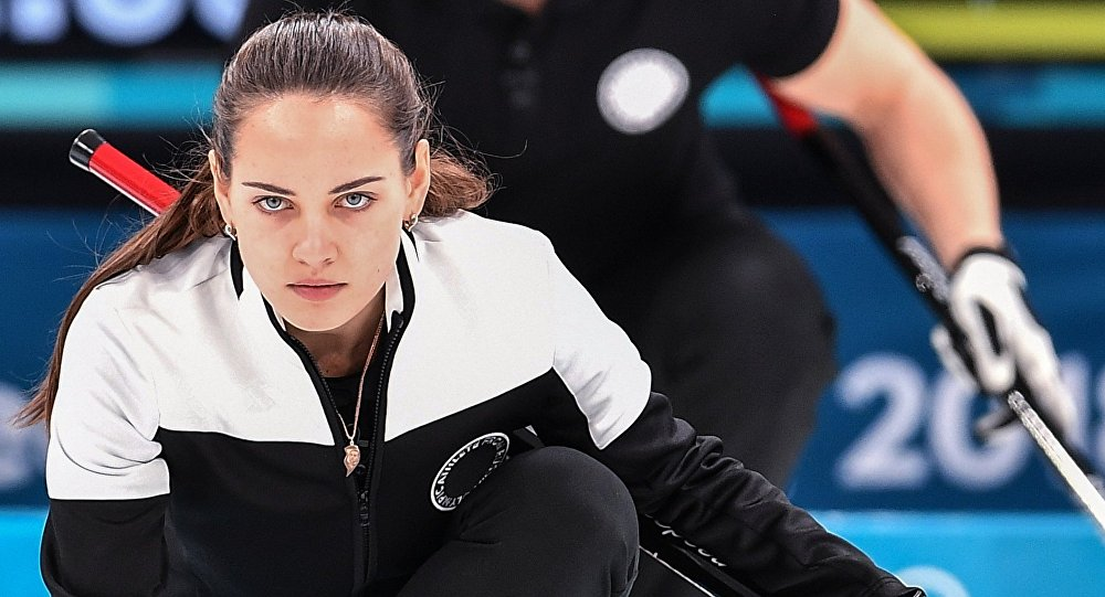 Olimpiada 2018, Anastasija Bryzgałowa, curling