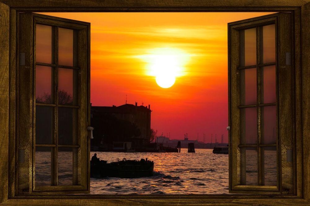 Widok z okna na Wenecję