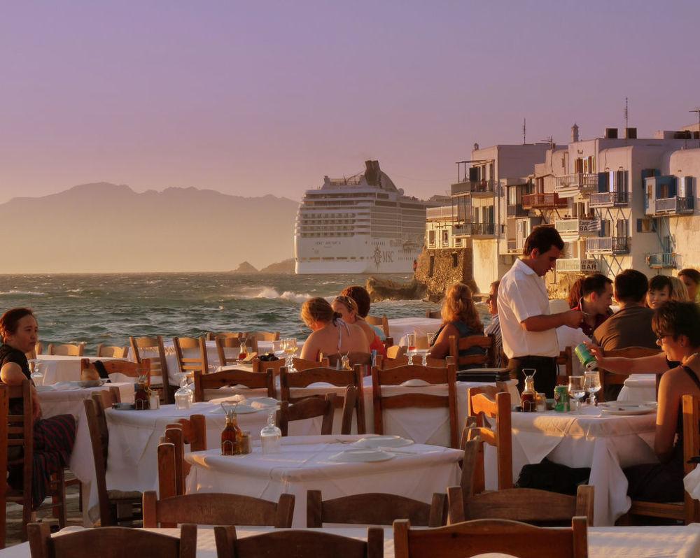 Grecka wyspa Mýkonos