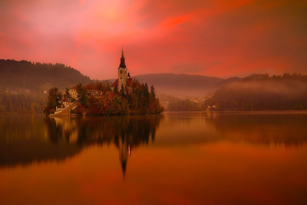 Jezioro Bled, Słowenia