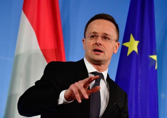 Szef MSZ Węgier Peter Szijjártó