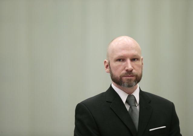 Norweski terrorysta Anders Breivik
