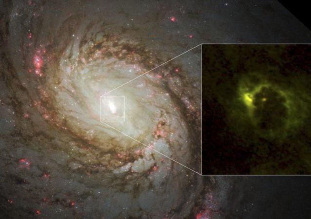 Pierwsze zdjęcie bajgla czarnej dziury w galaktyce M77