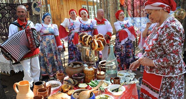 Festywal kultury rosyjskiej w Zabajkalu