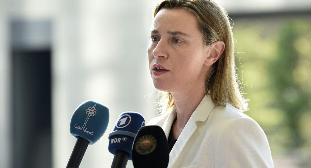 Szefowa europejskiej dyplomacji Federica Mogherini