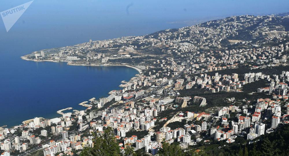 Widok na przedmieścia Bejrutu