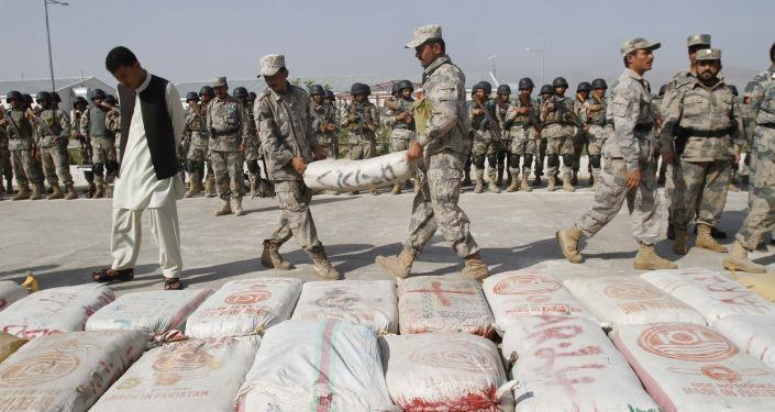 Skonfiskowany haszysz, Afganistan