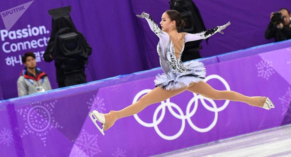 Alina Zagitowa, mistrzyni olimpijska z Pjongczangu 2018