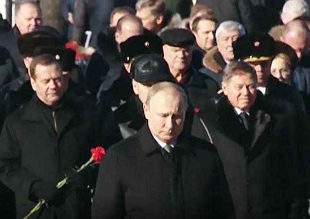 Jak Putin świętuje Dzień Obrońcy Ojczyzny