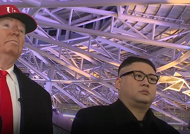 Gdyby Trump i Kim Dzong Un spotkali się na Olimpiadzie