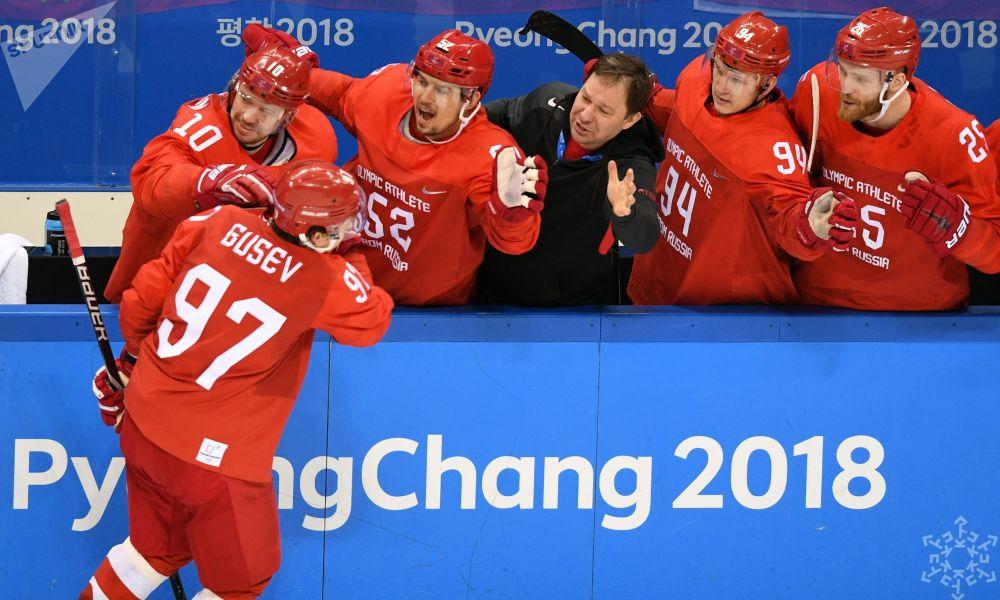 Napastnik rosyjskiej reprezentacji hokejowej Nikita Gusiew był najlepszym strzelcem Igrzysk Olimpijskich w Pjongczangu. W finale turnieju olimpijskiego zdobył dwa gole i wykonał dwie asysty.