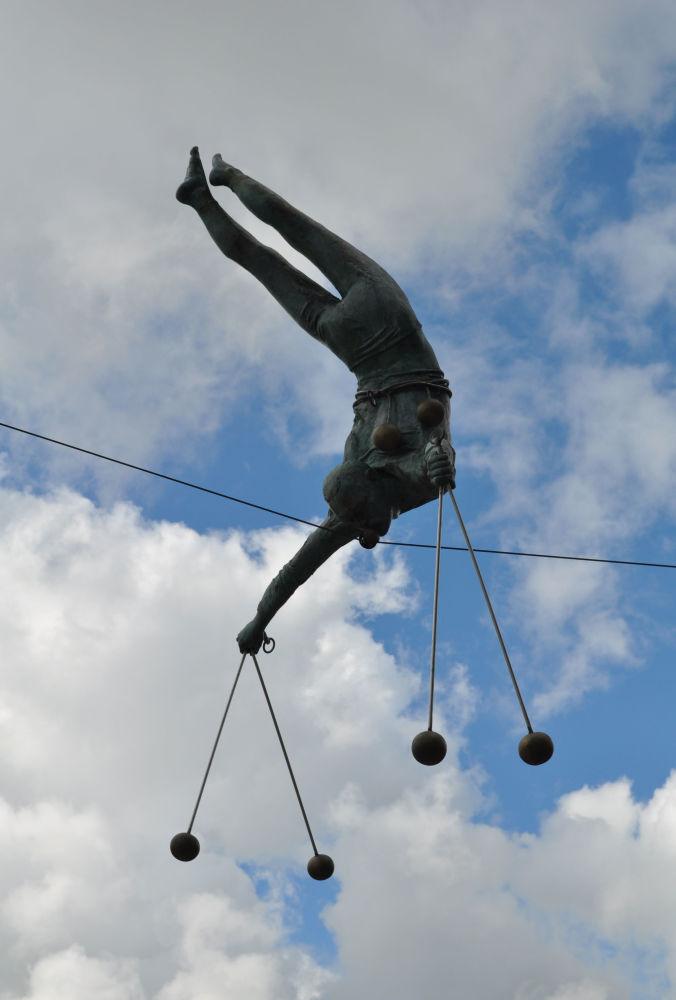 Rzeźba Jerzego Kędziory w Częstochowie