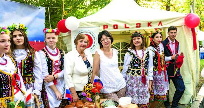 Helena Brodowska – wiceprezes Narodowo-Kulturalnej Organizacji Społecznej Kraju Stawropolskiego