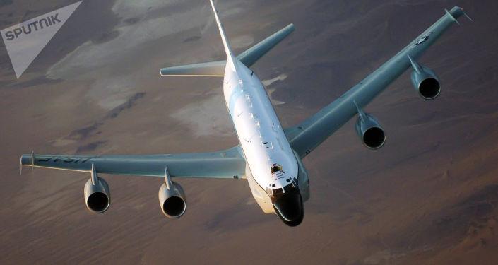 Amerykański samolot rozpoznawczy RC-135