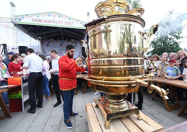 Festiwal Samowarów w Moskwie