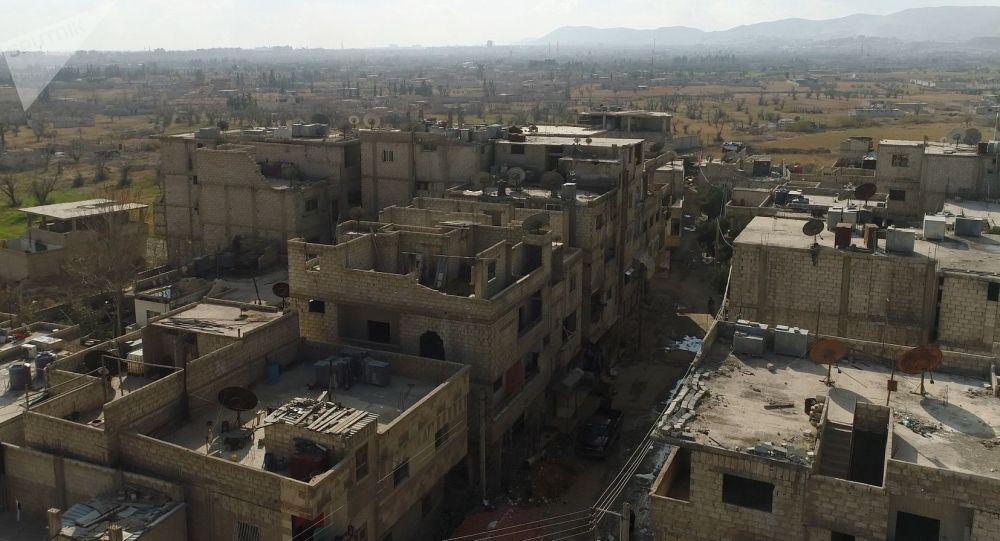 Korytarz humanitarny między Damaszkiem i Wschodnią Gutą