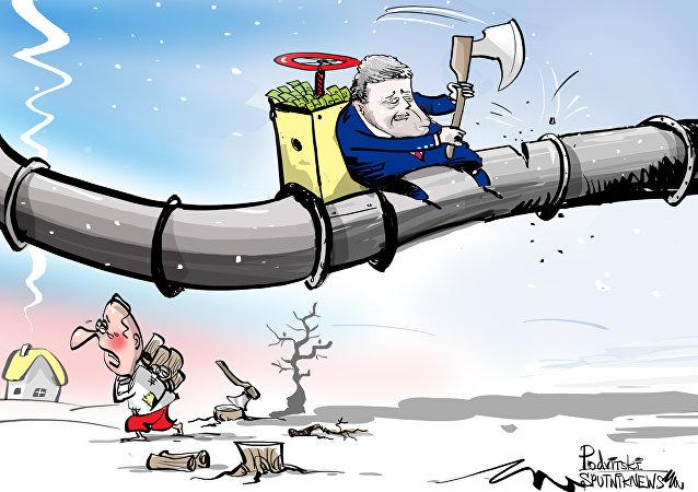 Na gazie Ukraina nie zaoszczędzi