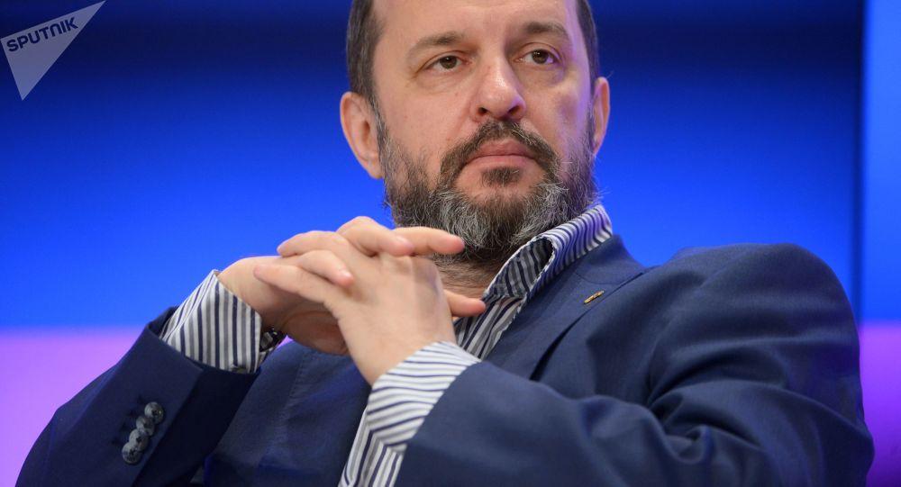 Doradca prezydenta Rosji ds. rozwoju internetu German Klimenko