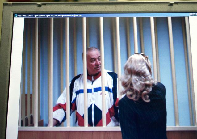 Były pułkownik GRU Siergiej Skripal podczas procesu w Moskwie, 2010 rok