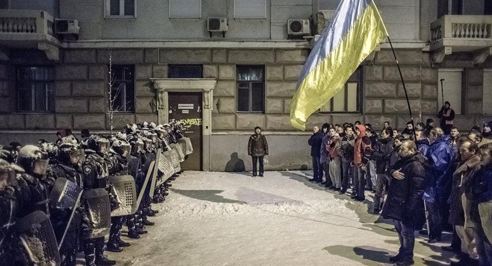 Przewrót na Ukrainie