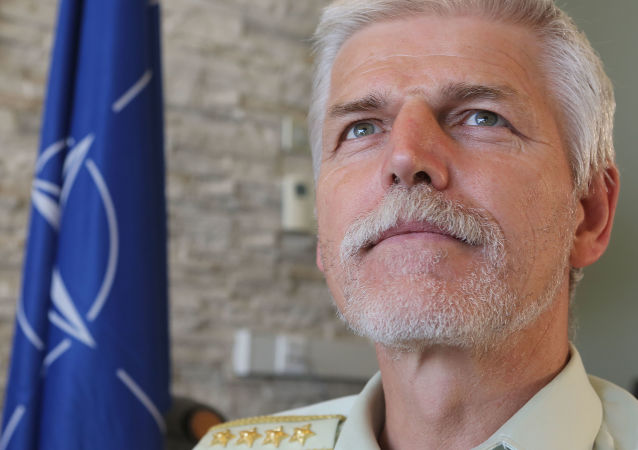 Przewodniczący Komitetu Wojskowego NATO szef Sztabu Generalnego Armii Republiki Czeskiej generał armii Petr Pavel