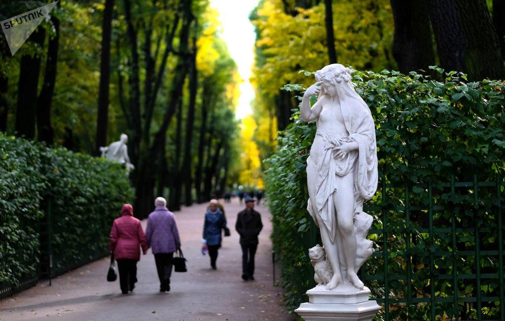 Letni Ogród w Petersburgu