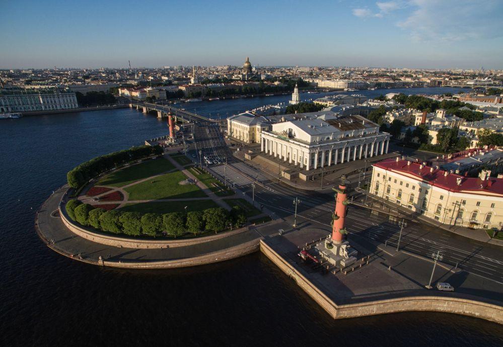 Wyspa Wasiljewska w Petersburgu