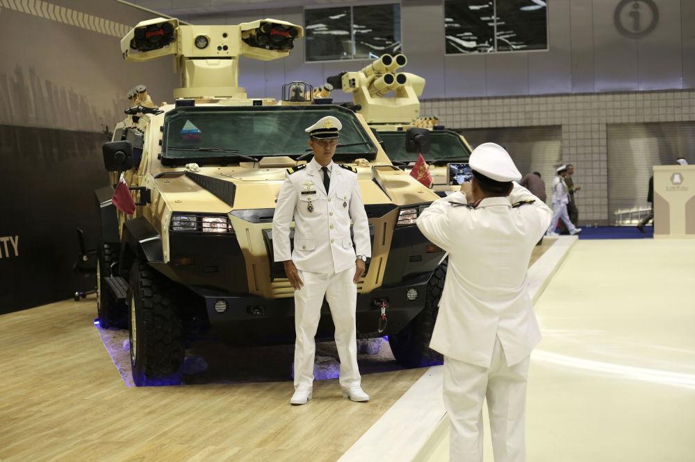 Międzynarodowe targi wojenno-morskie w Katarze