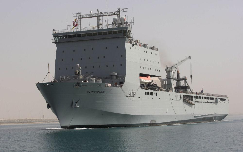 Okręt brytyjskiej marynarki wojennej