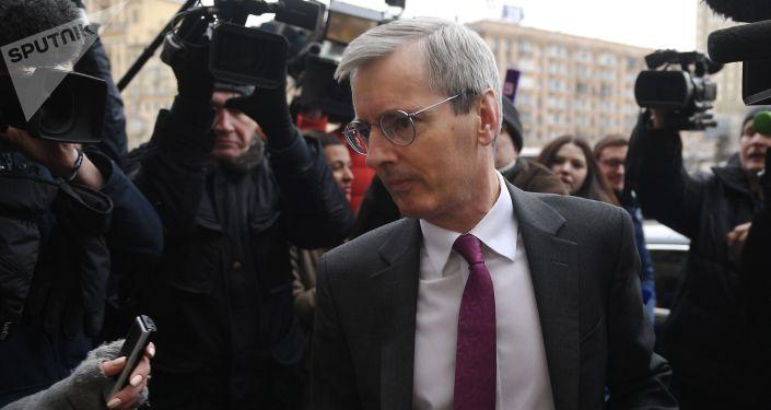 Ambasador Wielkiej Brytanii w Rosji Laurie Bristow